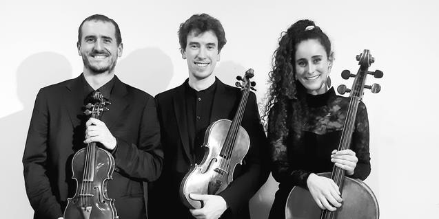 El Trio Leváre tocará el 25 de febrero