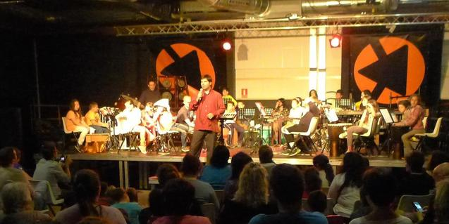 Un concert a la sala Gran de La Bàscula