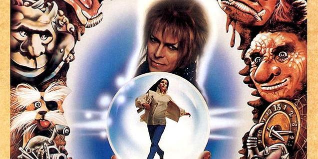 Cartell de 'Labyrinth', un dels films que es podran veure en el cicle dedicat a David Bowie