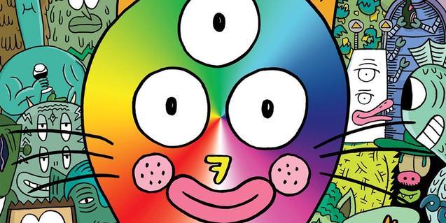 Un personaje fantástico con tres ojos ocupa la portada de la revista La Cruda