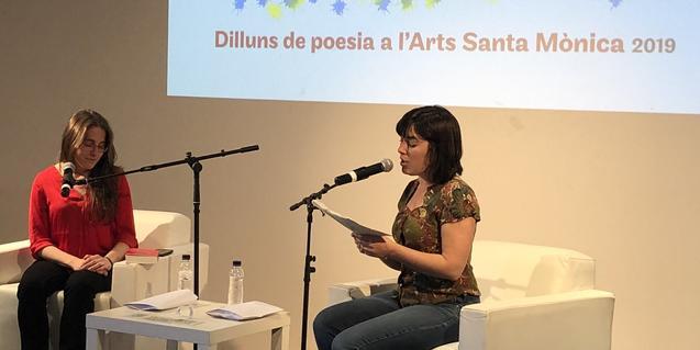 La Noguera en el 'Dilluns de poesia' del Arts Santa Mònica
