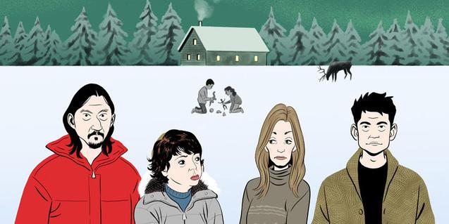 Cartel de la comedia 'Lapònia'