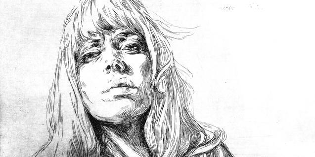 Retrat d'una dona, una de les obres que es poden veure a l'exposició