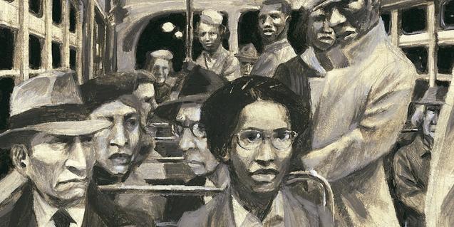 Il·lustració del llibre L'autobús de la Rosa