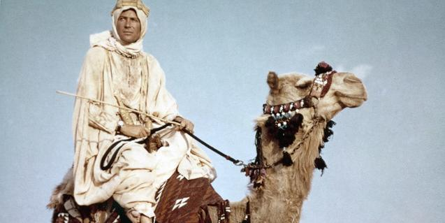 Peter O'Toole en 'Lawrence de Arabia'