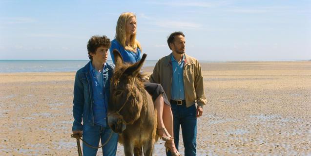 Al film 'Le fils de Joseph' Green introduce escenas bíblicas