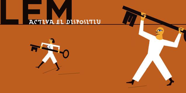 Un dels cartells que anuncien l'edició del LEM de 2016