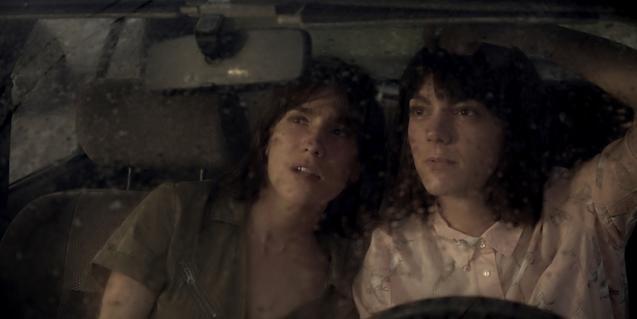 Bruna Cusí i Vicky Luengo, les dues actrius de l'obra '#Lifespoiler'