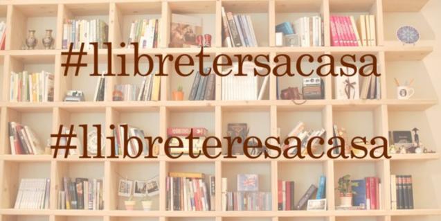 Llibreters a Casa recomana lectures per al confinament a Twitter