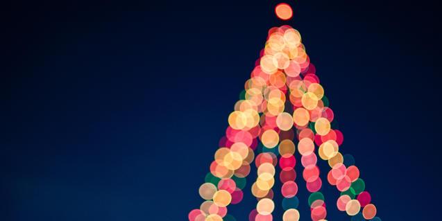 Imagen de iluminación navideña