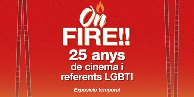 'ON FIRE!! 25 years of LGBTI films and references'