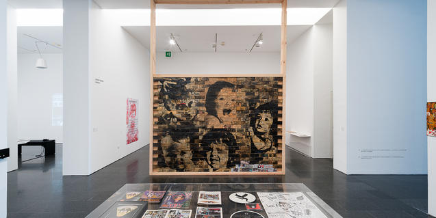 Exposición 'Gelatina Dura', en el MACBA. © Miquel Coll