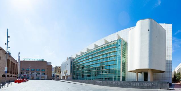 Panoràmica de la façana del museu. Foto: Marc Lozano.