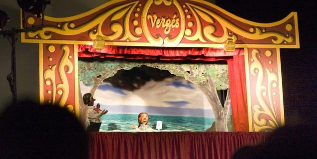 Fotografia d'un dels espectacles de la companyia Vergés