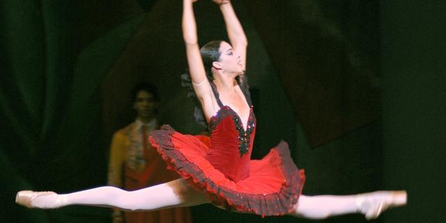 Una escena de 'Don Quixot' dins l'espectacle 'La magia de la danza'