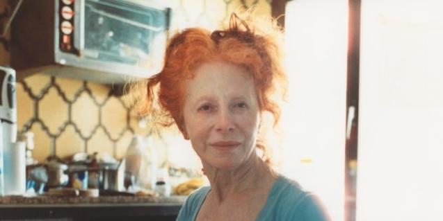 Una de les exposicions de la mostra està formada per una sèrie de retrats de la mare del fotògraf