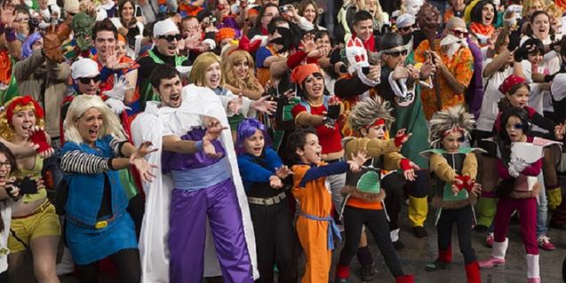 The Manga Barcelona is popular for their cosplay contest