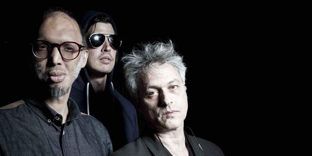 Los componentes del trío de rock de vanguardia liderado por Marc Ribot