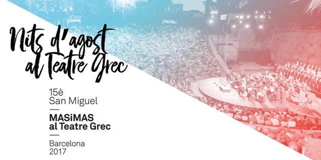Mas i Mas Festival at Teatre Grec
