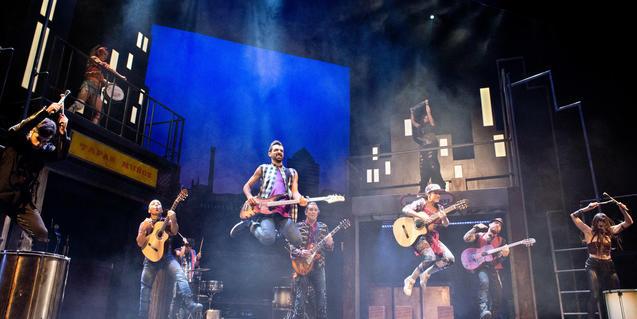 Un moment de l'espectacle 'Rumba!'