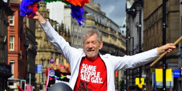 'McKellen: Tomando partido'