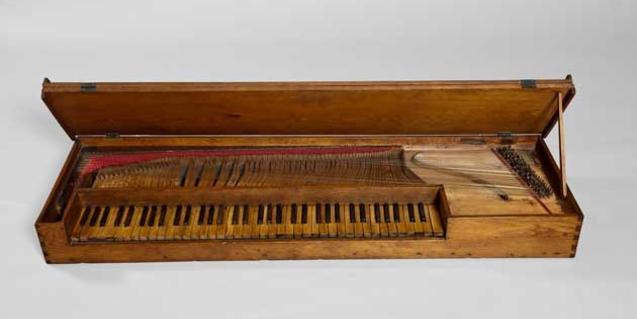 Clavicordi, cicle de La música del museu