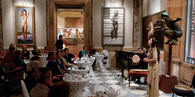 MEAM, afternoon tea-concert