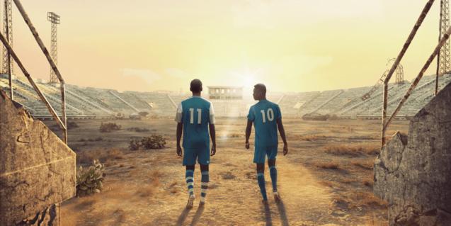 Fotografía del cartel del documental 'Men in the arena'