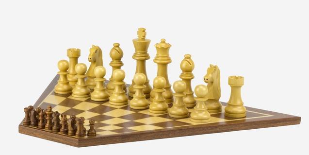 Un singular tablero de ajedrez, obra de Àlvaro Carmona