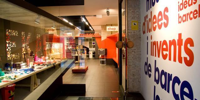 Entrada al Museu de les Idees i els Invents