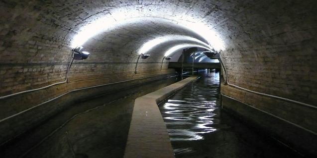 Imatge de la mina de Montcada
