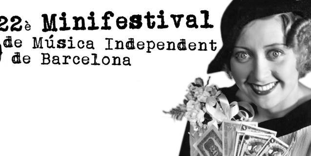 La fotografía en blanco y negro de una mujer de los años 20 sirve de cartel a la edición de este año del Minifestival