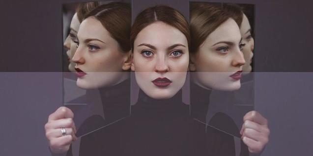 Imatge de l'exposició Miralls