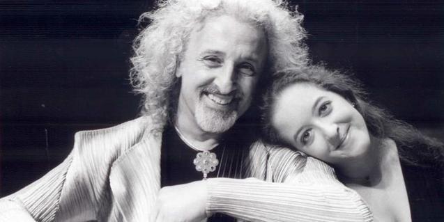 Los músicos Mischa y Lily Maisky