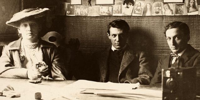 Pablo Picasso y el románico en el MNAC.