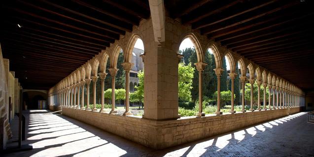 El claustro del Monasterio de Pedralbes