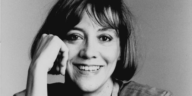 L'escriptora Montserrat Roig