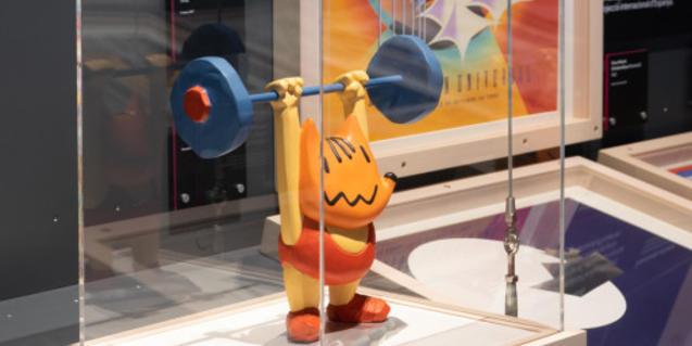 Figura del Cobi, mascota dels Jocs Olímpics de Barcelona 92