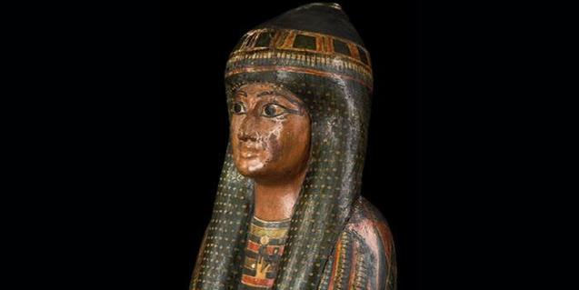 Una de les peces que trobareu al Museu Egipci de Barcelona