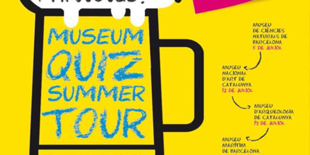 Cartel del Museum Quiz Summer Tour