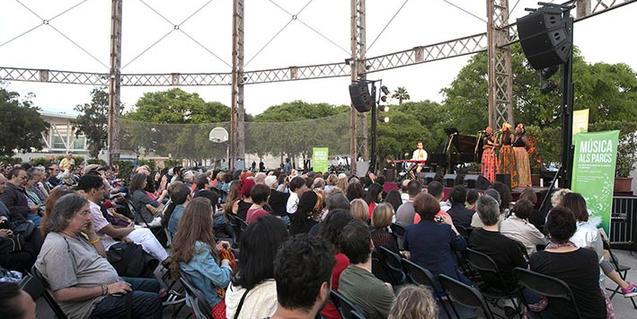 Música als Parcs és un dels cicles més esperats de l'estiu