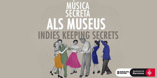Imatge gràfica del cicle Música Secreta als Museus