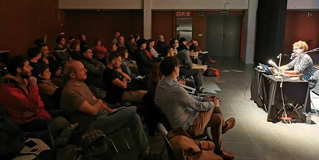 Una de les xerrades del cicle a l'auditori del Centre Cultural Albareda