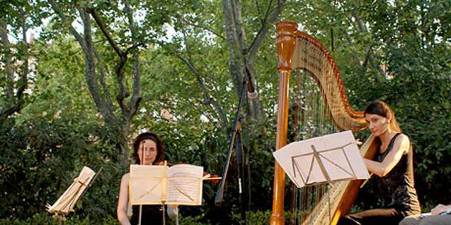 Un dels concerts del cicle 'Música als parcs' d'una edició anterior