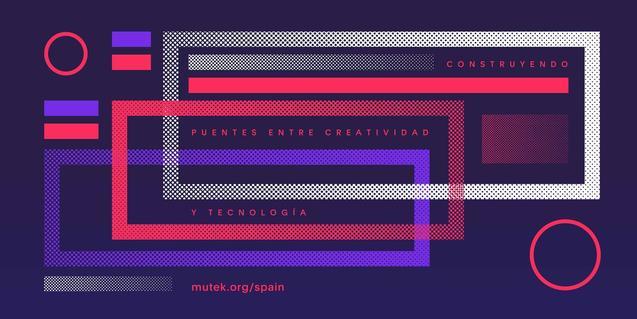 Imagen del cartel de este año que simula el esquema de un circuito informático
