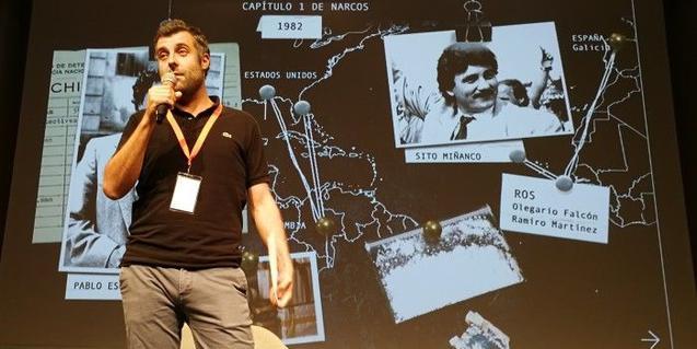 L'escriptor Nacho Carretero al Serielizados Fest