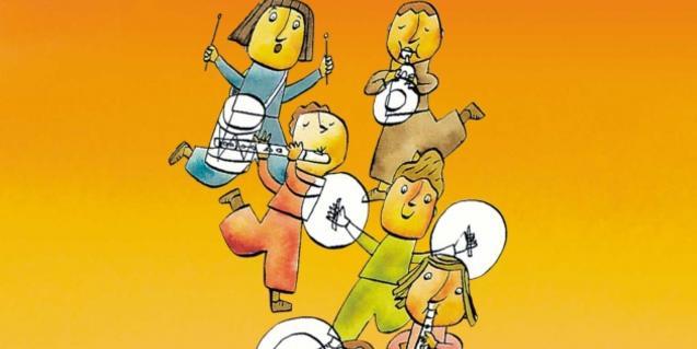 Il·lustració dels pastors músics