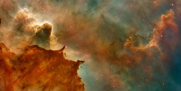 Imatge d'una nebulosa