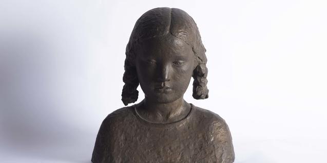 'Nena', escultura de Joan Rebull