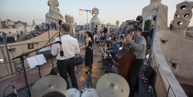 Imatge d'un dels concerts de jazz que s'han fet a les Nits d'Estiu